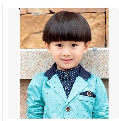 儿童假发 小孩子发套 宝宝 可爱 香菇 蘑菇头 男孩女孩新款发型