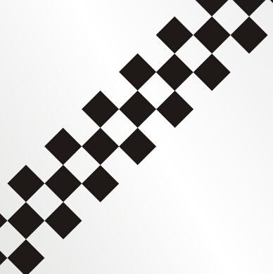 格子旗黑白旗汽车贴纸汽车拉力赛 越野车f1方程式赛车赛道车贴 汽