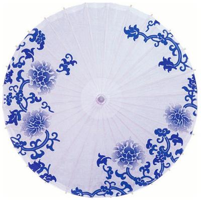 青花瓷伞图片