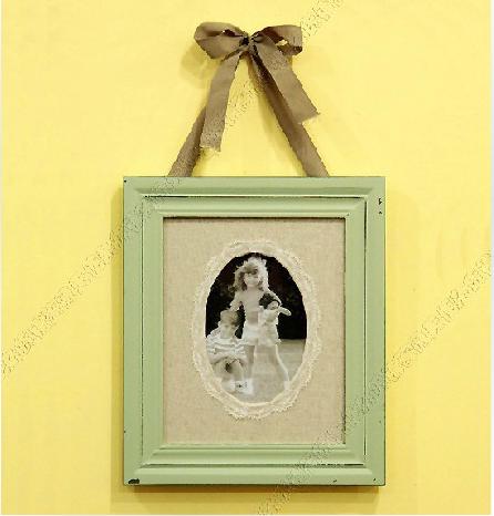 00 ☆ 6寸欧式实木婚纱照相片框结婚照片框摆台相架 蕾丝木质相框xk