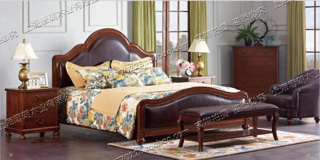 欧式床实木床简约双人床1.8 新古典后现代皮床1.5米创意家具.