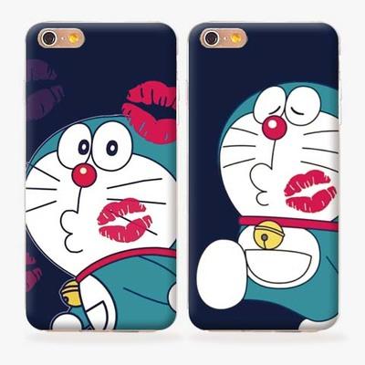 苹果6splus矽胶套外壳iphone6手机壳5s软壳可爱机器猫卡通4.7寸潮
