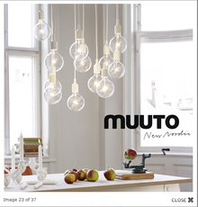 Люстра Hong jia lighting Muuto- E27