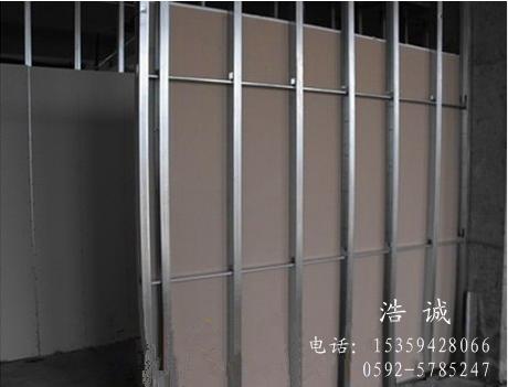 轻钢龙骨隔断墙包