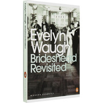 英文原版 Brideshead Revisited 故园风雨后伊夫林沃Evelyn Waugh
