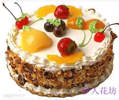 宿迁沭阳泗阳泗洪鲜花店鲜奶水果欧式巧克力蛋糕生日女友节日祝寿图片