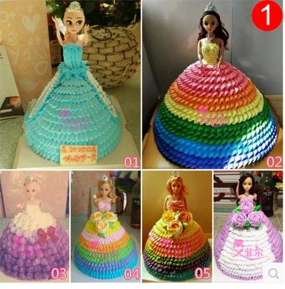 小公主生日蛋糕 | 迷糊娃娃蛋糕