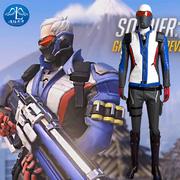 taobao agent 漫路云霄守望先锋万圣节守望先锋76号士兵道具手持枪cosplay服装