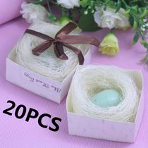 20Pcs The Nest Egg Soap Boxed For Baby Shower Souvenirs Brid