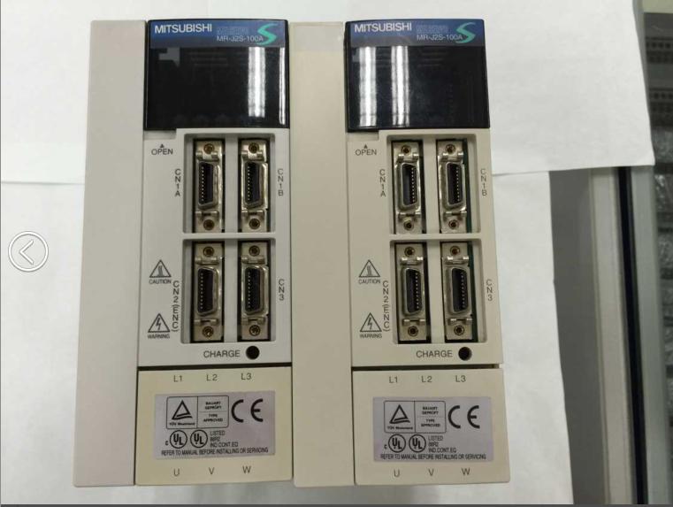 二手三菱伺服驱动器mr-j2s-100a 质保半年 实物图拆机件维修