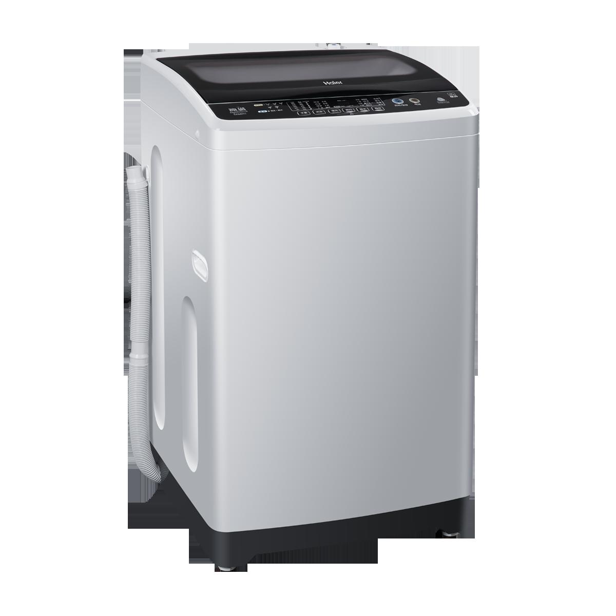 haier/海尔 eb80bzu11s变频洗衣机波轮八公斤全自动节能静音wifi