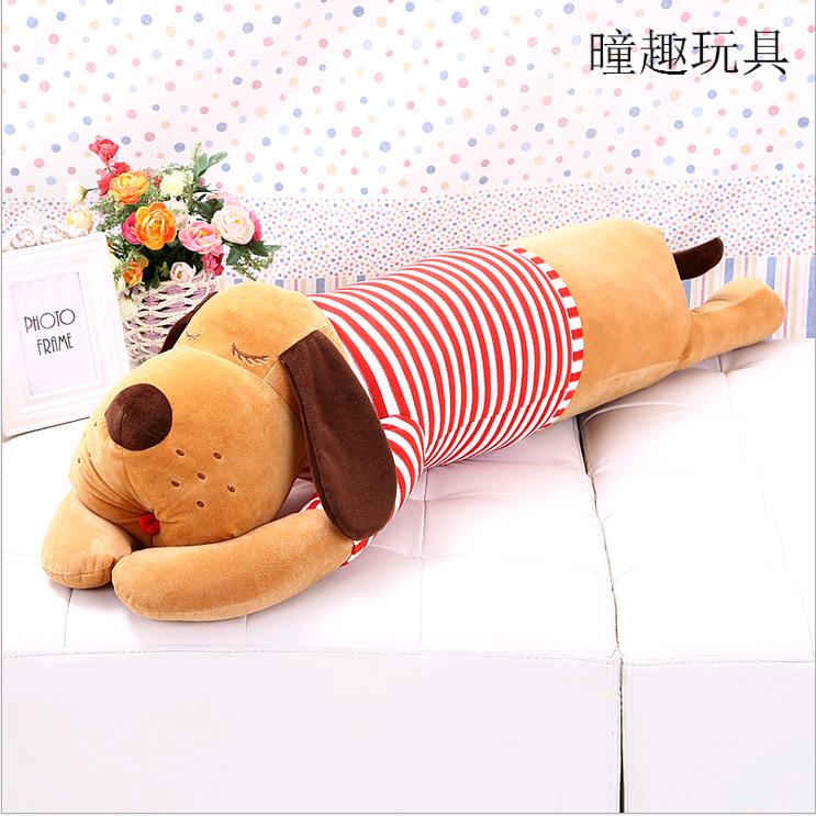 毛绒玩具趴趴狗公仔女生睡觉长抱枕可爱布娃娃玩偶送