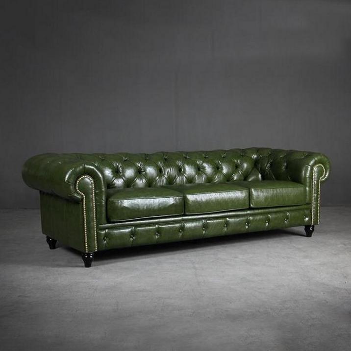 沙发浅绿墨绿色欧式田园