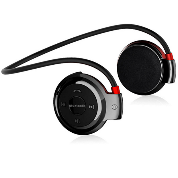 无线蓝牙耳机脑后后挂式运动跑步重低音头戴式插tf卡双耳收音机