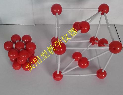 金属晶体结构模型