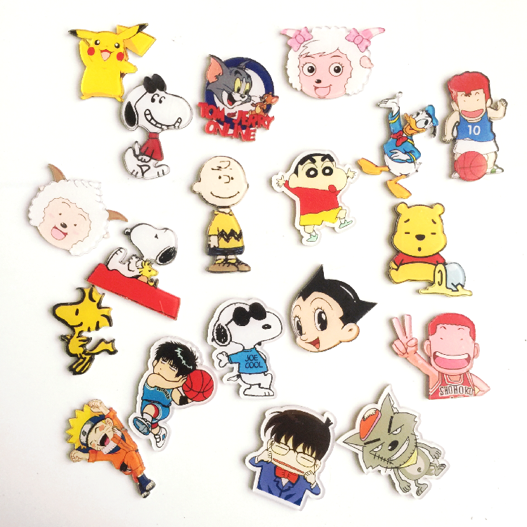 韩国创意日本卡通动画片动漫合集可爱冰箱贴磁贴磁性贴留言贴