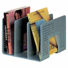 富強FQ1348 三格書立 桌面塑料文件架 賬本書刊架資料架 文件收納