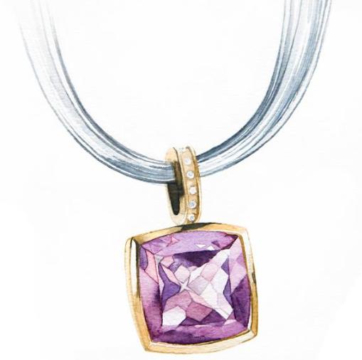 16年珠宝首饰设计图展示