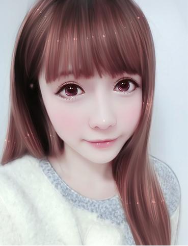 手绘现代美女唯美头像【仯妇82297444(q)】