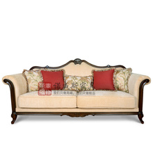 American style sofa sofa three new classical European leather sofa to do high-end custom furniture combination