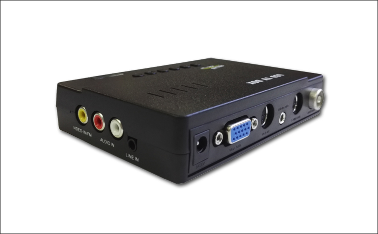 Monitor, watch TV, external TV box / card, cable TV converter, AV switch, VGA output, free of charge