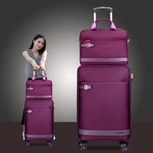 Austrian tour business mother box, chassis, universal wheel, lady's cloth, travel case, soft case, pull box, male trunk.