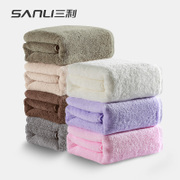 Sanli 500g thickening towel cotton adult boys and girls to increase thickened cotton soft absorbent large suits
