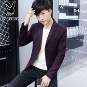 Playboy youth casual suit young men's Republic of Korea Slim small suit suit