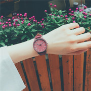 Female students watch retro wind Institute Rome small fresh art cute Korean minimalist Mori ulzzang
