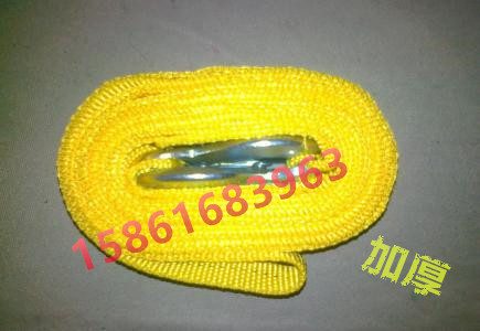 Knotted rope flat ribbon nylon rope wide flat rope lift rope backpack belt weaving rope outdoor rope rope air conditioning