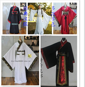 Male costume costume Hanfu Qin three Han Minister of spring and autumn and Warring States period costumes of ancient courtiers robes