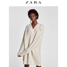 ZARA Womens loose knit dress 06873160712