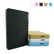 A new mobile hard disk 2 TB see 5 color wave promotion 500 units