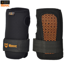 MOUC+D3O female skier extreme sports palm hand with built-in hard protective plate type belt