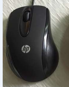 HP notebook computer mouse USB cable mouse computer color box big mouse