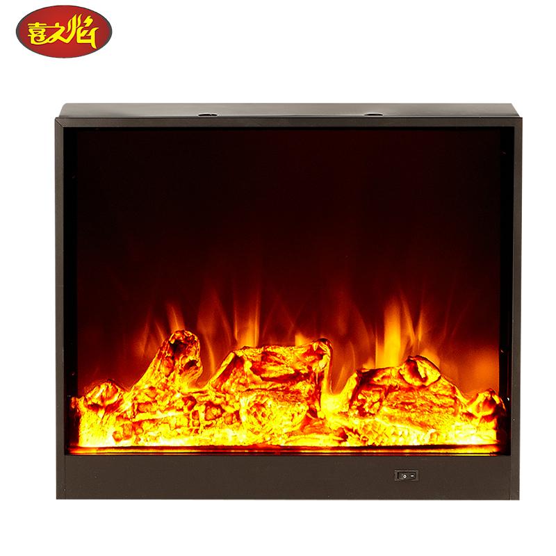 定做欧式壁炉芯 定制壁挂式电壁炉芯仿真火 嵌入式观赏装饰取暖器