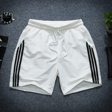 Summer sports three 4 SLIM pants men Summer Shorts 3 boys loose Korean casual pants four trend