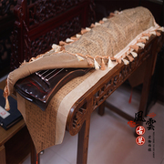 The Guqin Qin tablature antique desk cloth cover cloth dust cover Guqin Chinese Zen tea pad bag mail