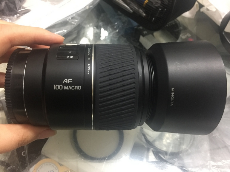 Bidding on: 97 new minolta 100 mm MACRO the latest 2.8 D: wukesong xianju