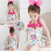 Every day special children's swimming suits, girls swimsuit, baby baby Siamese skirt, spa spa conjoined swimsuit