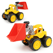 Environmental protection dredging engineering vehicle large beach excavator children's toy car model