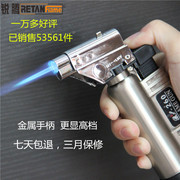 Dental jewelry blowtorch flame gun into the lighter portable flamethrowers baking barbecue ignition gun