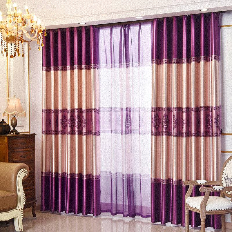 Shade curtains finished product rental room bedroom floor
