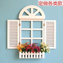 欧式假窗户墙上装饰品地中海风格假窗壁挂田园电表箱壁饰墙面装饰