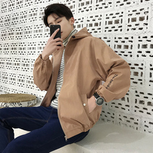 Jacket men 2018 new spring and autumn men's jacket male Korean version of the self-cultivation personality handsome trend windbreaker baseball uniform men