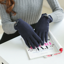 Four warm palm wind Princess personality thin cashmere gloves in winter hardy mountain long barrel and fleshcolor