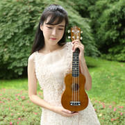 Genuine 21 inch color ukulele Beginners small guitar ukulele ukulele Hawaii four stringed Lute