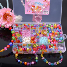 3C certification early childhood fun puzzle children's handmade toys jewelry accessories A, B, and Ding DIY beaded shipping