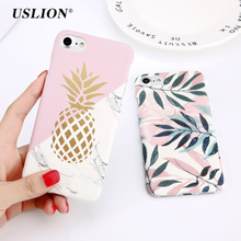 Marble Hard PC Cover Cases For iPhone X 8 6 6s Plus 5 5S SE