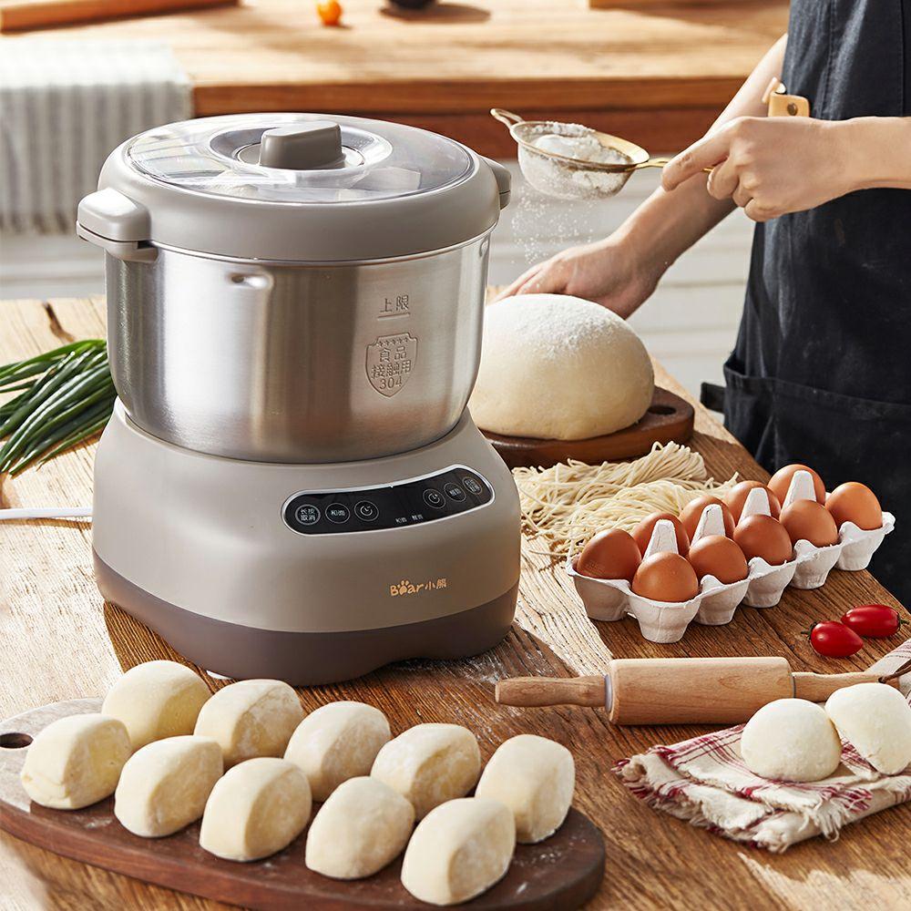 小熊和面机家用小型全自动多功能揉面机搅拌机7L大容量醒面厨师机